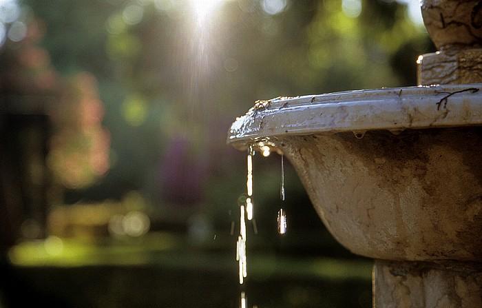 Jardim Municipal de Oeiras: Brunnen