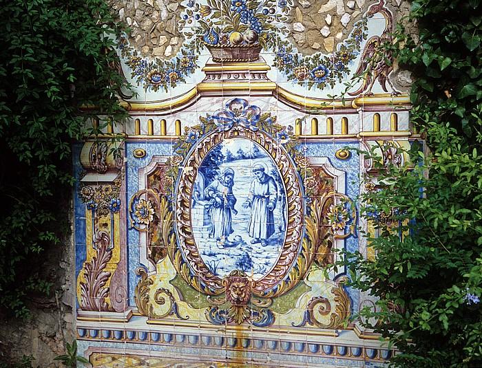 Jardim Municipal de Oeiras: Azulejo