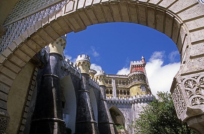 Sintra Parque da Pena: Palácio Nacional da Pena - Eingangstor