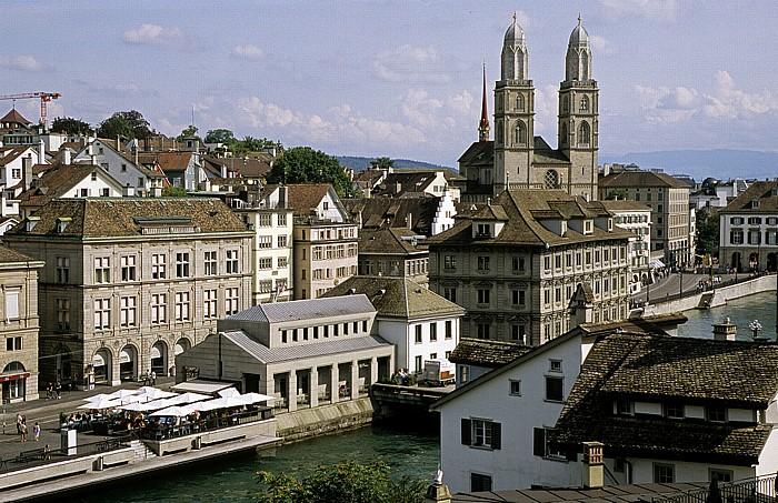 Altstadt: Blick vom Lindenhof Zürich