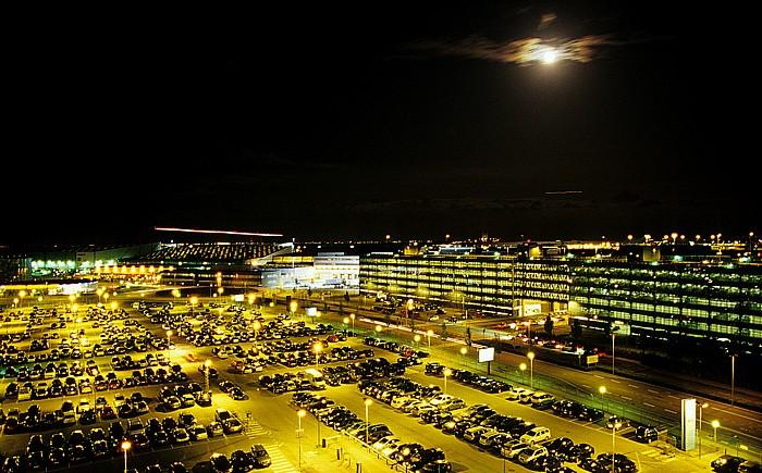 Blick aus dem Hilton Airport Hotel: Flughafen Kopenhagen (Københavns Lufthavn / Kastrup)