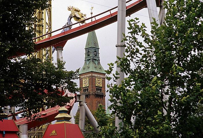 Kopenhagen Vergnügungs- und Erholungspark Tivoli Rathaus