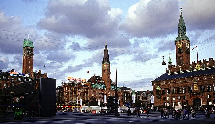 Kopenhagen Rathausplatz (Rådhuspladsen) HT-terminalen Palace Hotel