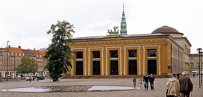 Kopenhagen Slotsholmen: Thorvaldsens Museum Nikolaikirche Palastkapelle Christiansborg
