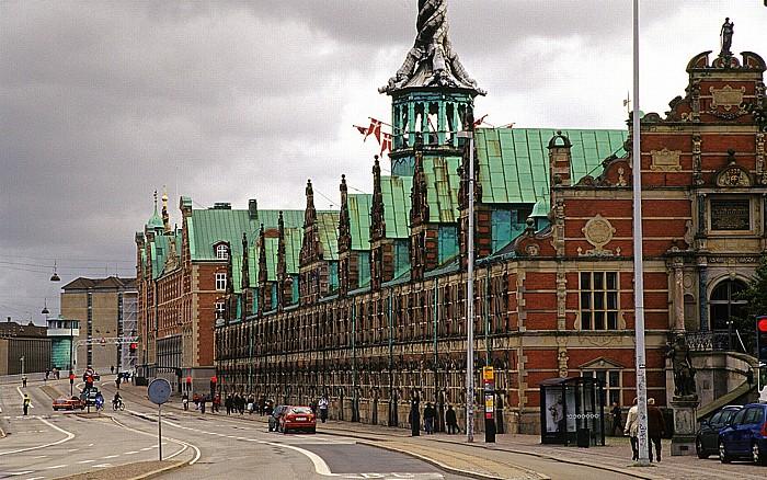 Kopenhagen Slotsholmen: Børsgade: Alte Börse (Børsen)