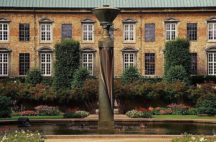 Kopenhagen Slotsholmen: Park der Königlichen Bibliothek (Det Kongelige Biblioteks Have)