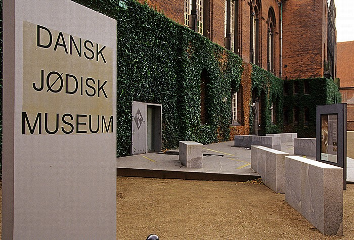 Kopenhagen Slotsholmen: Dansk Jødisk Museum (Dänisches Jüdisches Museum) in der Königlichen Bibliothek (Det Kongelige Bibliotek) Königliche Bibliothek