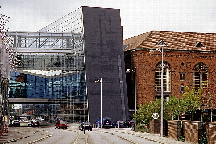 Kopenhagen Slotsholmen: Christians Brygge: Königliche Bibliothek (Det Kongelige Bibliotek)