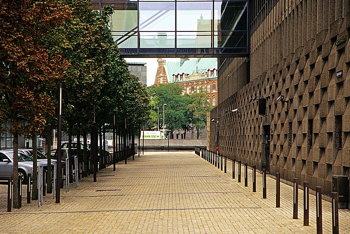 Kopenhagen Christianshavn: Dänisches Hauptquartier der Nordea Bank Slotsholmen