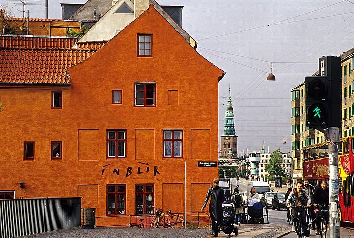 Kopenhagen Christianshavn: Overgaden Neden Vandet Knippelsbro Nikolaikirche