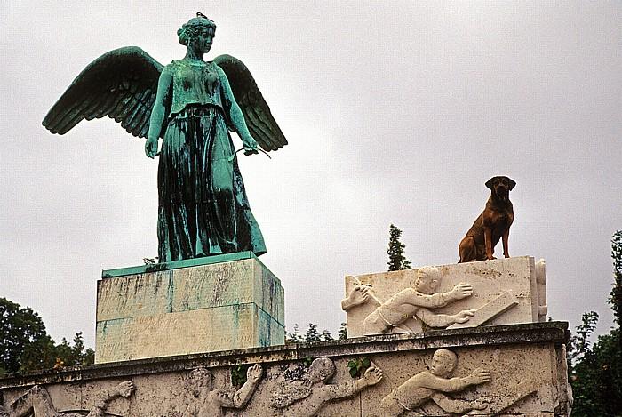 Kopenhagen Langelinie: Engelsdenkmal mit Hund