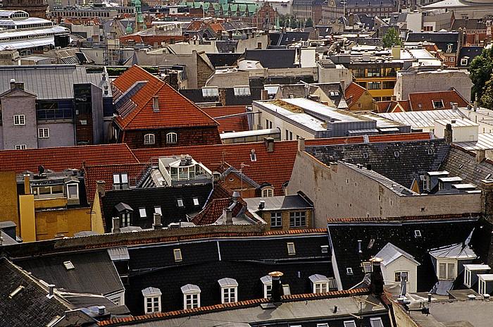 Kopenhagen Blick vom Runden Turm (Rundetårn) Runder Turm