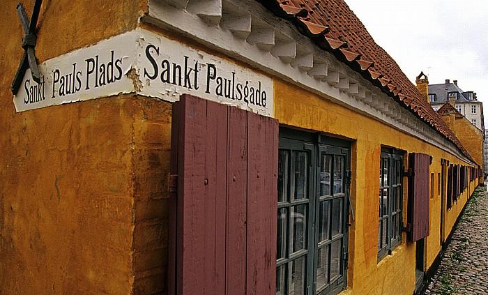 Kopenhagen Nyboder: Sankt Pauls Gade / Sankt Pauls Plads