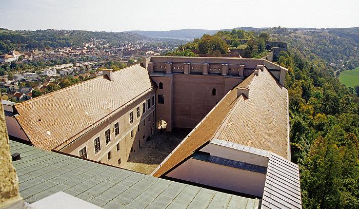 Eichstätt Willibaldsburg: Gemmingenbau und Schildmauer