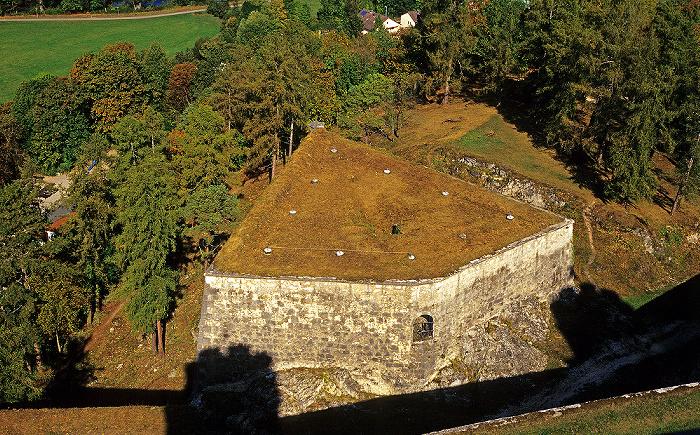 Eichstätt Blick von der Willibaldsburg: Lünette