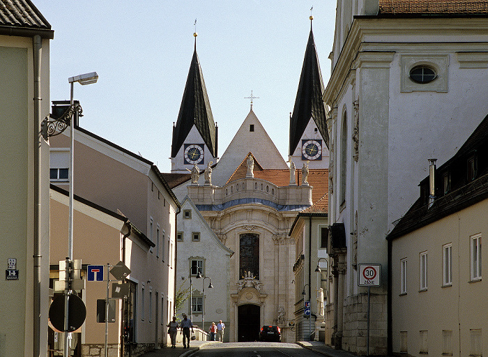 Altstadt: Spitalbrücke, Eichstätter Dom