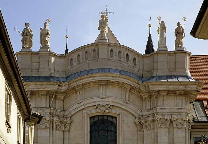 Eichstätter Dom: Barocke Westfassade