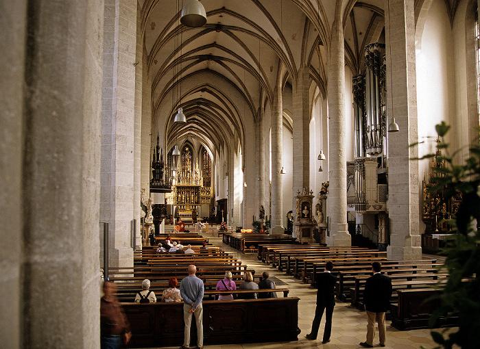 Eichstätter Dom: Langhaus und Ostchor