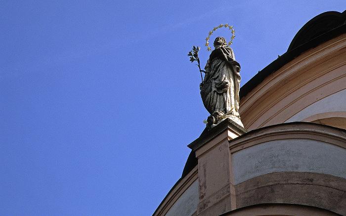 Eichstätt Altstadt: Ehem. Klosterkirche Notre Dame de Sacre Coeur