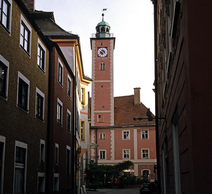 Eichstätt Altstadt: Pfahlstraße, Rathaus