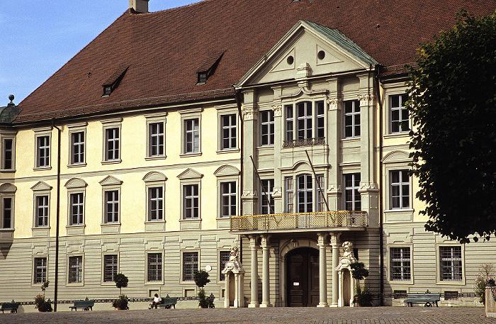 Eichstätt Altstadt: Residenzplatz: Ehem. fürstbischöfliche Residenz