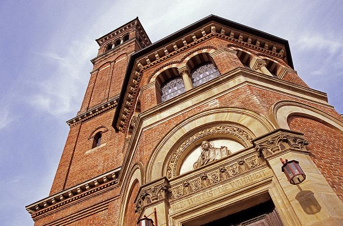Eichstätt Altstadt: Evangelisch-lutherische Pfarrkirche (Erlöserkirche)