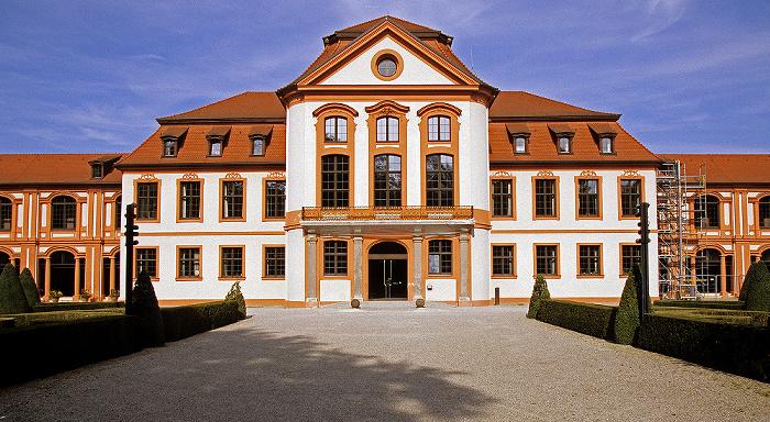 Eichstätt Ehem. fürstbischöfliche Sommerresidenz (Universitätsverwaltung), Hofgarten