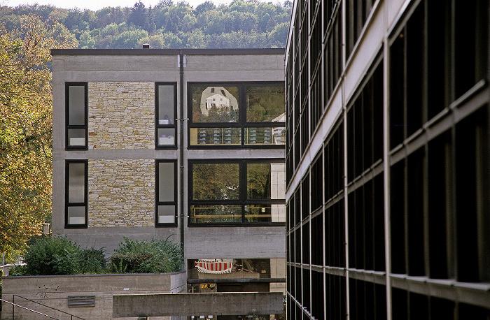 Eichstätt Universität: Kollegiengebäude / Bau B (rechts) und C (hinten) Moderne Architektur
