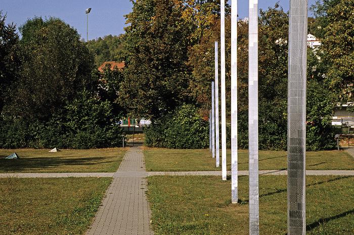 Eichstätt Universität: Platz vor der Universitätsbibliothek