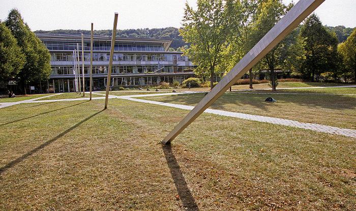 Eichstätt Universität: Platz vor der Universitätsbibliothek Moderne Architektur