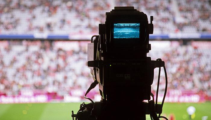 München Allianz Arena: Fernsehkamera