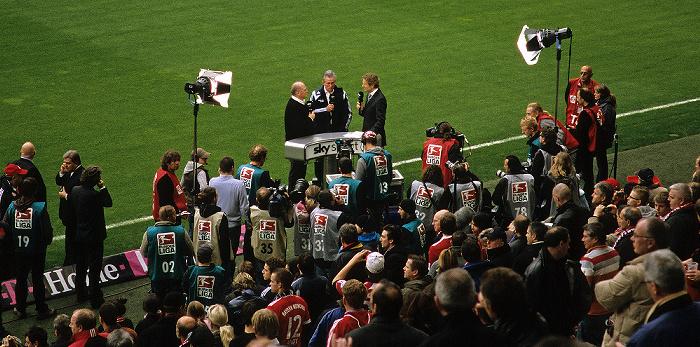 München Allianz Arena: Sky-Fernsehinterview mit Uli Hoeneß und Jupp Heynckes