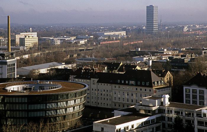 München Blick vom Technischen Rathaus: Berg am Laim Hochhaus Süddeutscher Verlag Technisches Rathaus