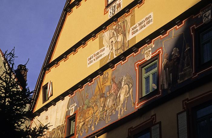 Rottweil Altstadt: Fußgängerzone Hauptstraße: Kirsnersches Haus