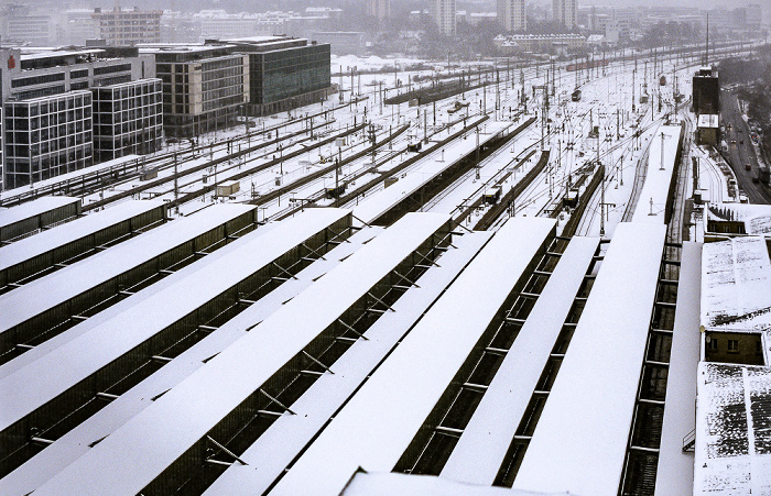 Stuttgart Hauptbahnhof: Blick vom Bahnhofsturm LBBW-Forum
