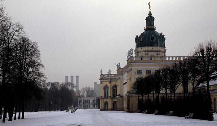 Schlossgarten und Schloss Charlottenburg Berlin 2010