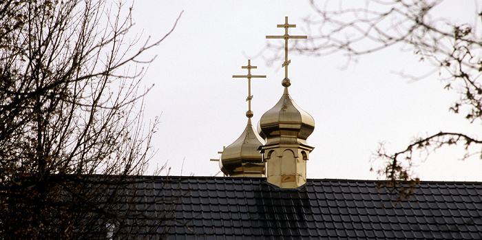 Berlin Charlottenburg: Russisch-Orthodoxe Kirche Schutz der Gottesmutter (Pokrov) Russisch-Orthodoxe Kirche Schutz der Gottesmutter