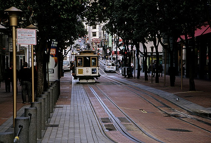 San Francisco Powell Street: Cable Car