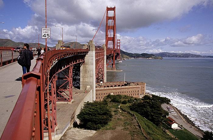 San Francisco Golden Gate Bridge Fort Point San Francisco Bay