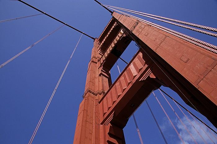 San Francisco Golden Gate Bridge: Pylon