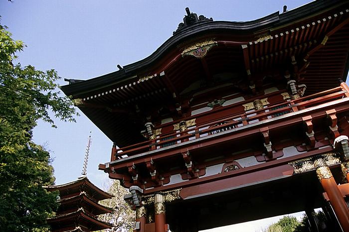 San Francisco Golden Gate Park: Japanese Tea Garden (Japanischer Teegarten): Torbogen