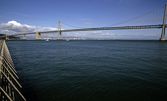 Pier 14, Yerba Buena Island, San Francisco Bay, Bay Bridge San Francisco-Oakland Bay Bridge