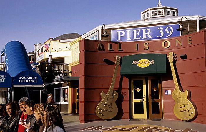San Francisco Pier 39: Hard Rock Cafe