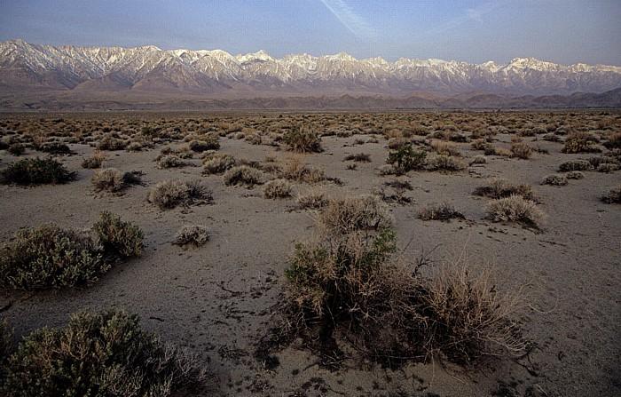 Owens Valley Blick auf die Sierra Nevada