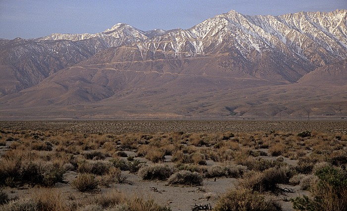 Owens Valley Sierra Nevada: Horseshoe Meadows Road zu den Alabama Hills