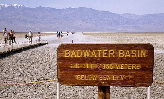 Death Valley (Mojave Desert): Badwater Death Valley National Park
