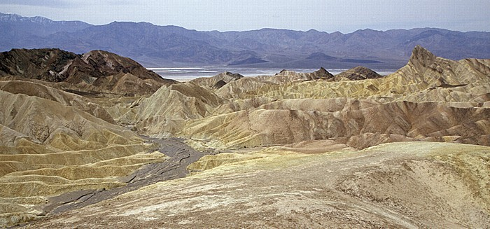 Amargosa Range: Zabriskie Point Death Valley National Park