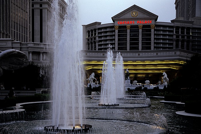 Las Vegas Strip: Caesars Palace