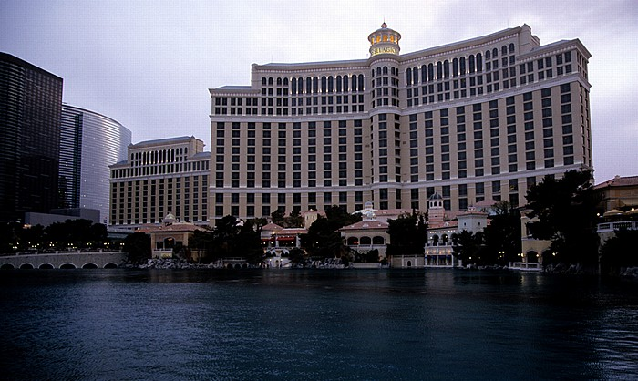 Las Vegas Strip: Hotel Bellagio Cosmopolitan of Las Vegas