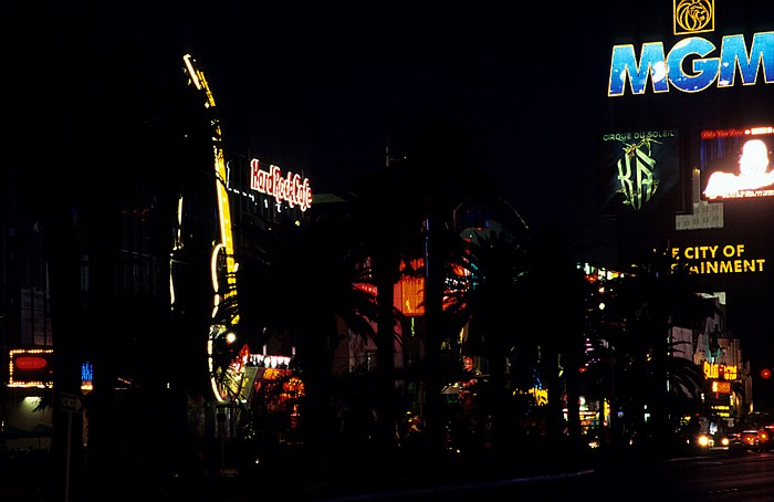 Las Vegas Strip: Hard Rock Cafe MGM Grand Hotel